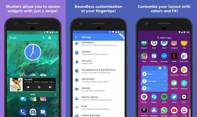 Action Launcher Plus Apk descarga gratis