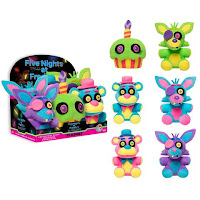 Five Nights at Freddy's Blacklight Plushies