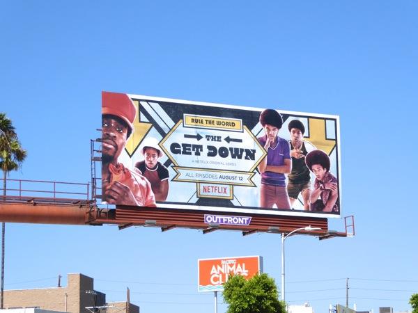 Get Down series premiere billboard