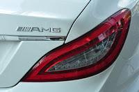 Mercedes CLS 350 AMG 2014 kiểu dáng đẹp mắt và thể thao ngoại thất màu Trắng
