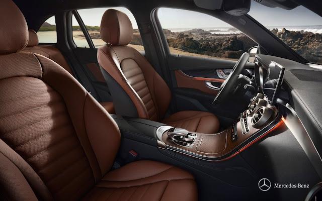 Mercedes GLC Interni