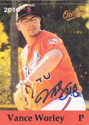Oriole # 1009- Vance Worley