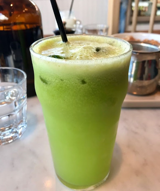 The Penny Drop, Box Hill, celery juice