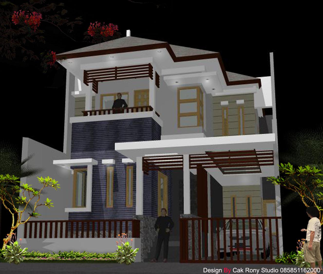 Gambar Model Rumah Minimalis Bergarasi Interior Rumah
