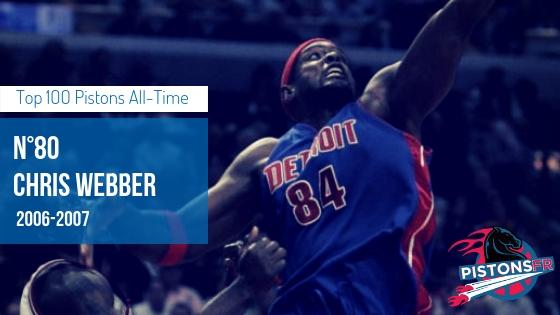 Chris webber | PistonsFR, actualité des Detroit Pistons en France
