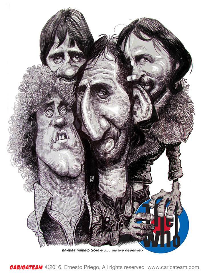 The Who por Ernesto Priego