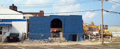 The Fastlane was demolished back in 2013