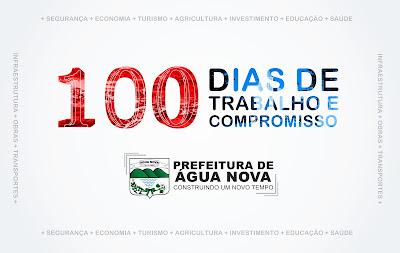 100 DIAS: MAIS TRABALHO E COMPROMISSO
