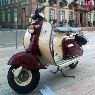 Lambretta production Troyes/St-Julien-les-Villas (Aube)
