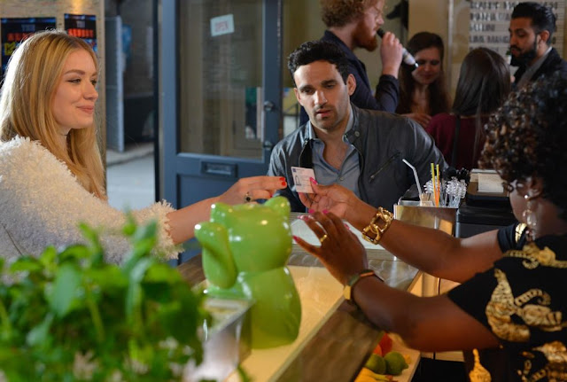 EastEnders Kush moves on from Denise, going on his first date