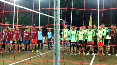 Jaring Bibit Atlet, Karang Taruna Gelar Turnamen Bola Voli Piala Ketua DPRD