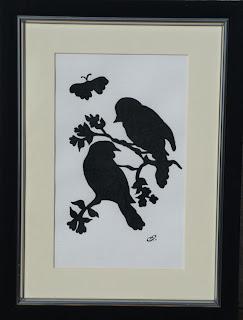 Ty Siriol paintings, Love birds