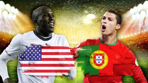 نتيجة مباراة البرتغال والولايات المتحدة الامريكية