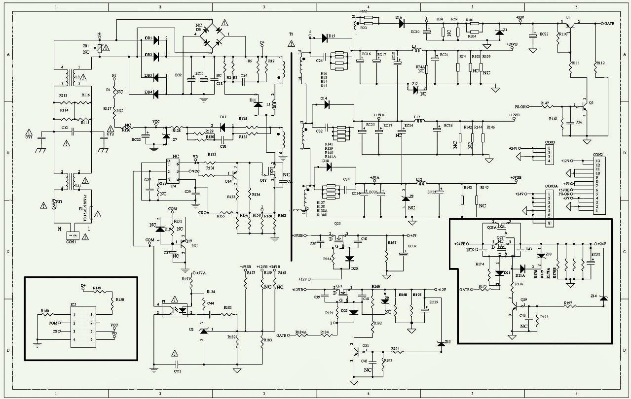 ex600 wiring diagram sony kdl 32ex715 + 40ex715 + 46ex715 service & repair ...