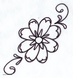 tattoo flower simple tattoos outline daisy designs stencil cliparts drawing heart flowers floral clipart clip library gerber star drawings stencils