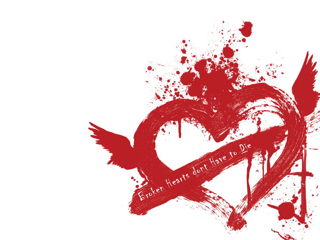 Broken heart wallpapers walls hub - Heart to heart wallpaper ...