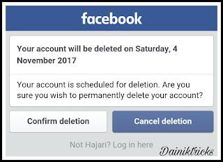 Reactive facebook id page