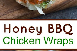 Honey BBQ Chicken Wraps