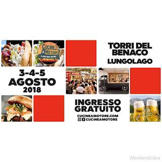 Street food festival 3 -4 - 5 agosto Torri del Benaco (VR)