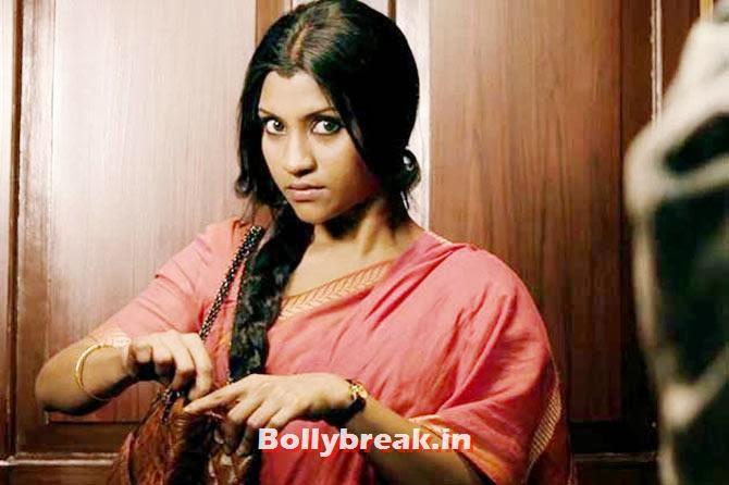Konkona Sen Sharma in Ek Thi Daayan, The Top 10 Bollywood performances of 2013