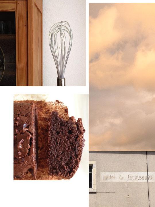 schokoladenkuchen mit mandelmus und kakaonibs I fräulein text