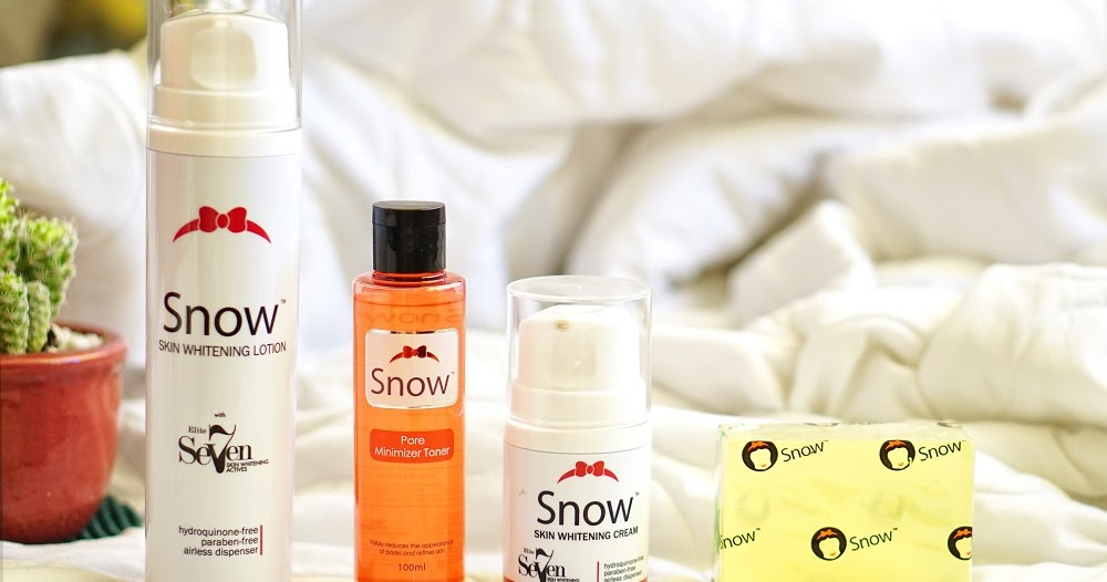 Snow Skin Whitening For Consistent Fairer Skin The Daily Posh