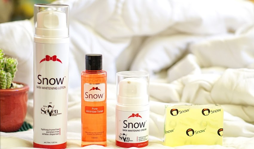 Snow Skin Whitening: For Consistent Fairer Skin