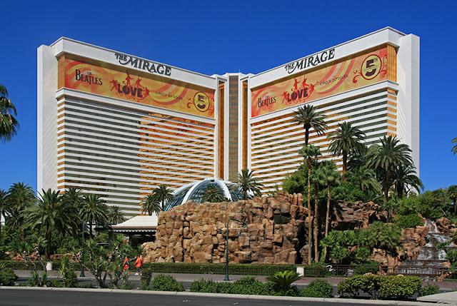 Dicas de Las Vegas:The  Mirage Hotel