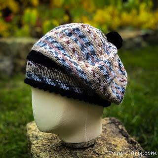 czapka na drutach tutorial