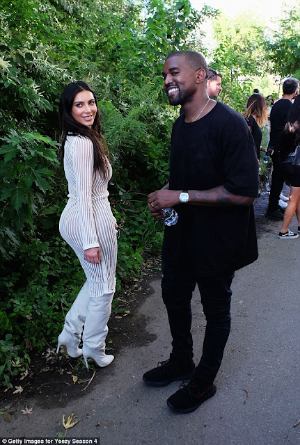 The Kardashian/Jenner clan and other celebs turn out for Kanye West's Fashion Week Show