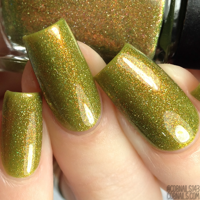 Lollipop Posse Lacquer-Poisoned Caramel Apple