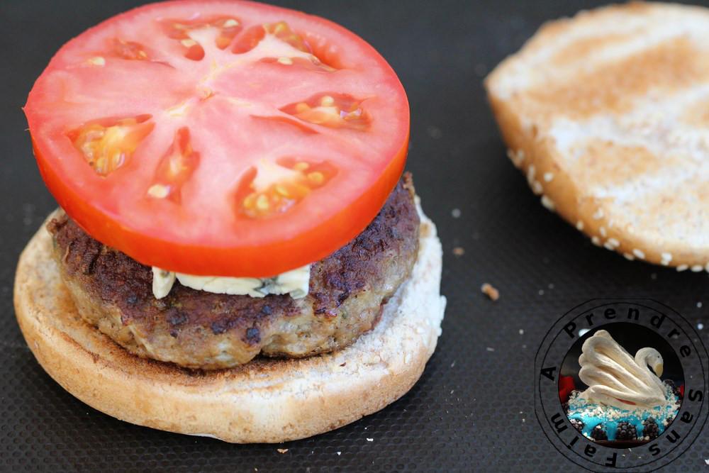 Hamburger anglais (pas à pas en photos)