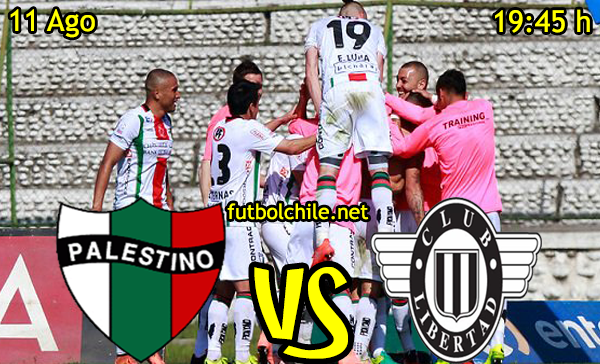 Ver stream hd youtube facebook movil android ios iphone table ipad windows mac linux resultado en vivo, online: Palestino vs Libertad