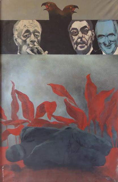 Pablo Mañé arte latinoamericano pintura surrealista Hitchcock