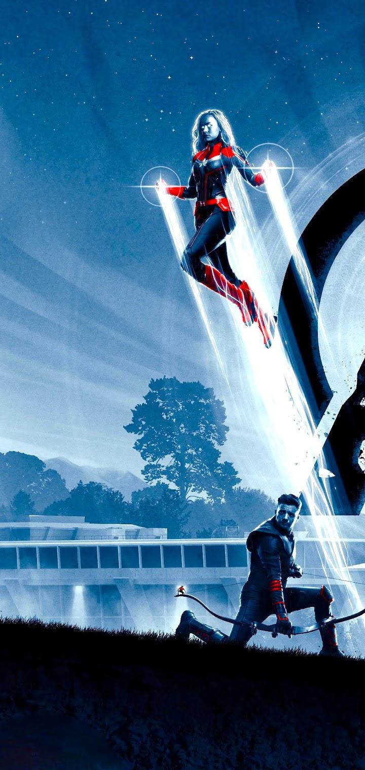 Avengers Endgame Thor Captain America 4k Wallpaper 109