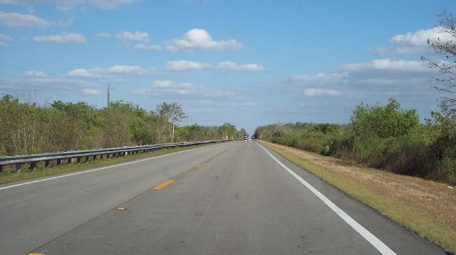 Trilha Tamiani em Everglades em Miami