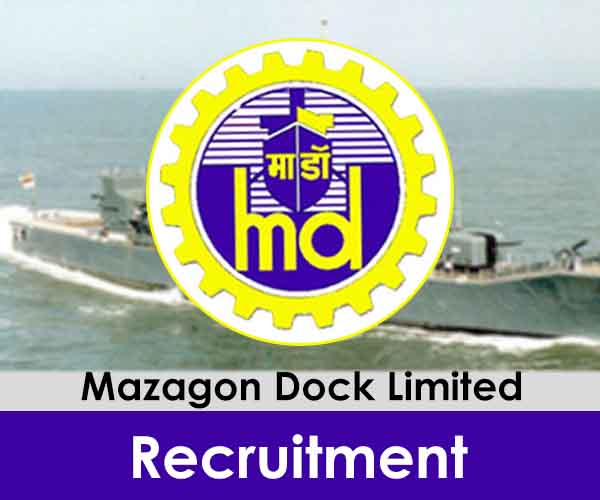 Mazagon Dock Limited Recruitment mazdock.com Apply Online Form
