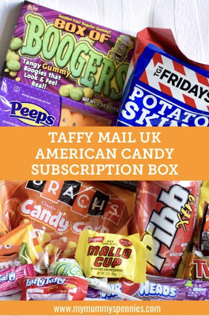 Taffy Mail American Candy Box