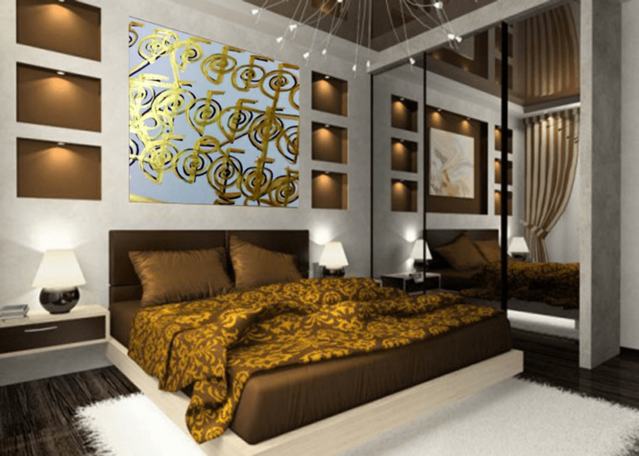 Feng shui simple cures 3 decor mistakes with golden for Spiritual bedroom designs