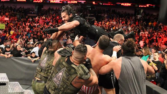 WWE The Shield Braun Strowman, Dolph Ziggler & Drew McIntyre