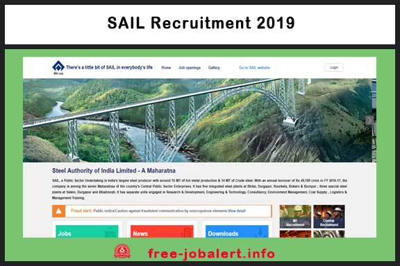 SAIL Recruitment 2019: Steel Authority of India Limited Invited applications for Attendant-cum-Technician