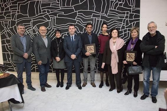 Toni Arencón - Mercé Viana - María González Garrigues - XXXVII Premis Vila de Catarroja 2017