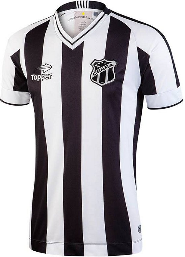 fb620ba6e6 Topper divulga as novas camisas do Ceará - Show de Camisas