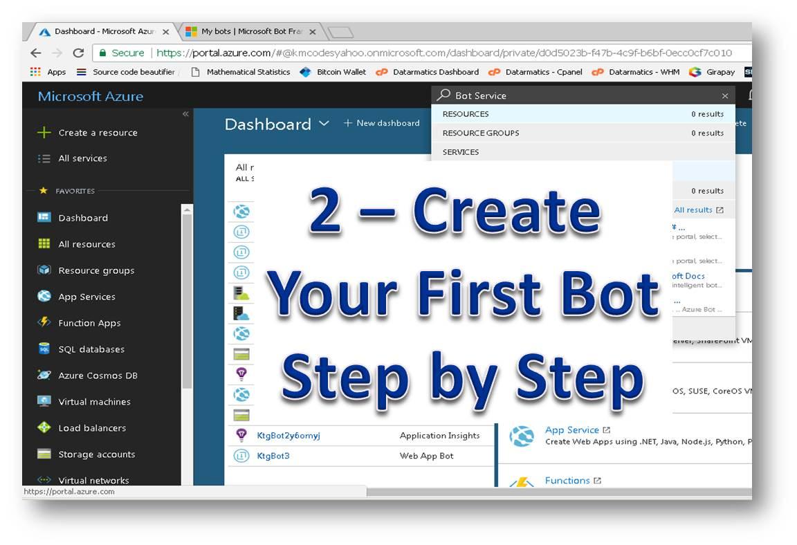 The tech pro kttpro bot framework tutorial 2 create your what is bot framework baditri Images