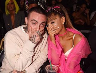 rapper Mac Miller and Ariana grande