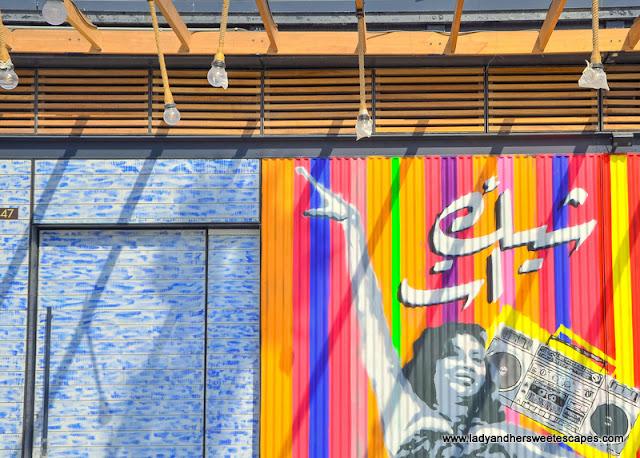 murals in La Mer Dubai