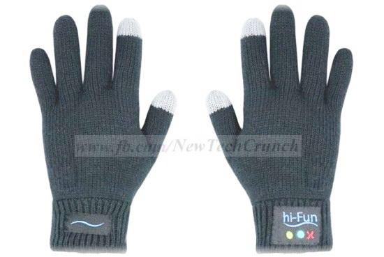 hi call gloves smartphone