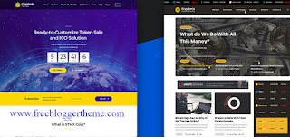 best cryptocurrencu wordpress theme nulled