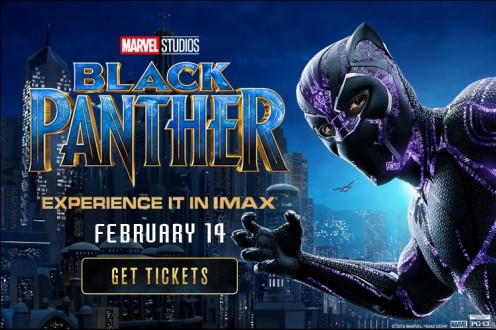 Film BLACK PANTHER Bioskop
