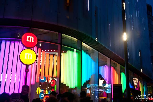 citytrip Londres London M&Ms world